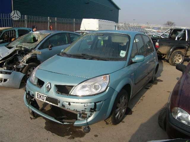 Renault Scenic. 6 begiai turim ir automatine gr. deze