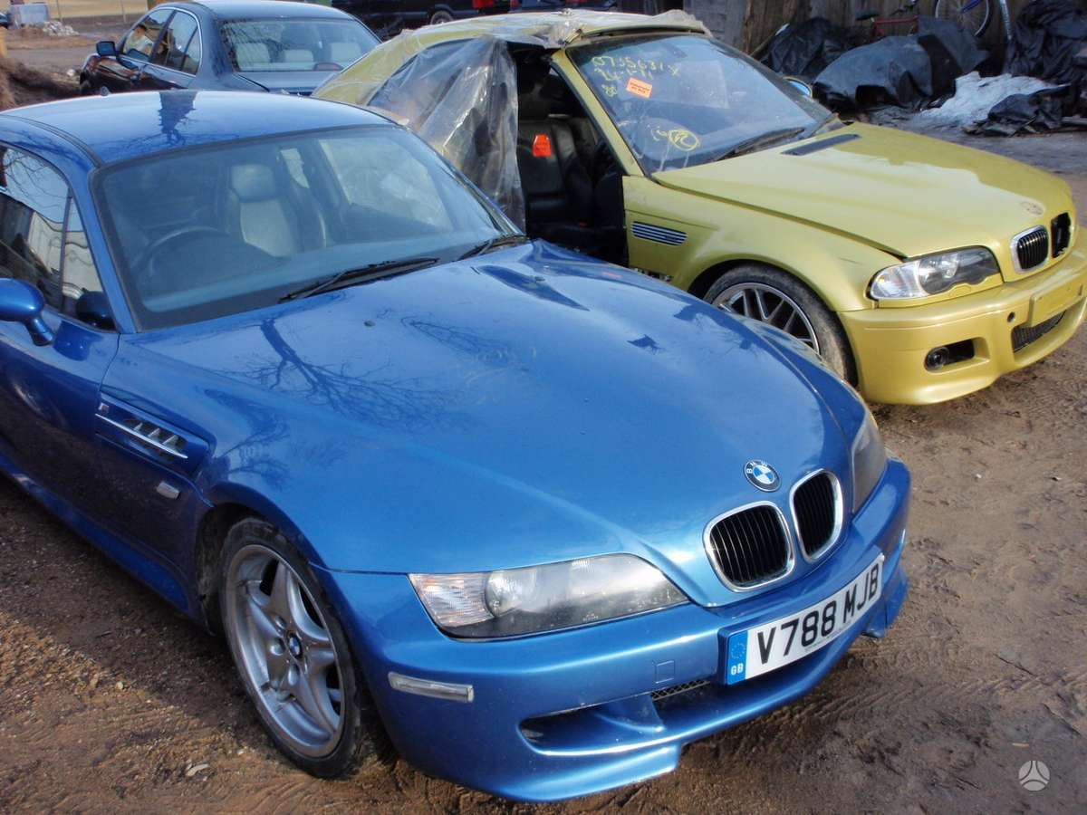 BMW M Coupe dalimis. Bmw mcoupe 3,2 1998m. dalimis  taip pat