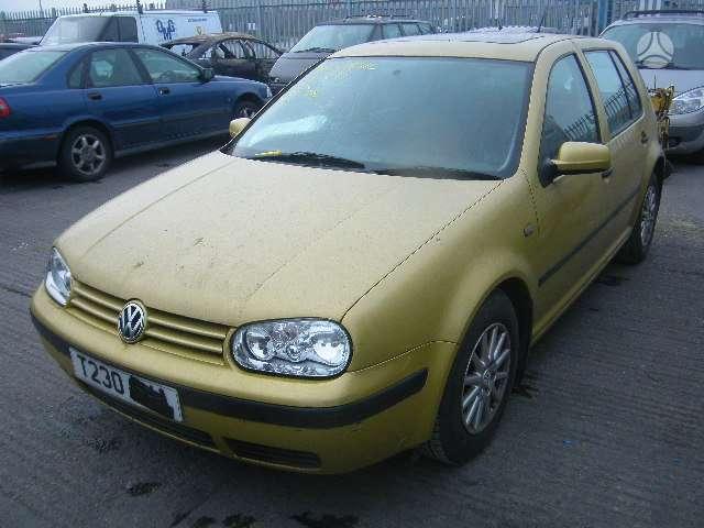 Volkswagen Golf. Serviso paslaugos (variklių, važiuoklės