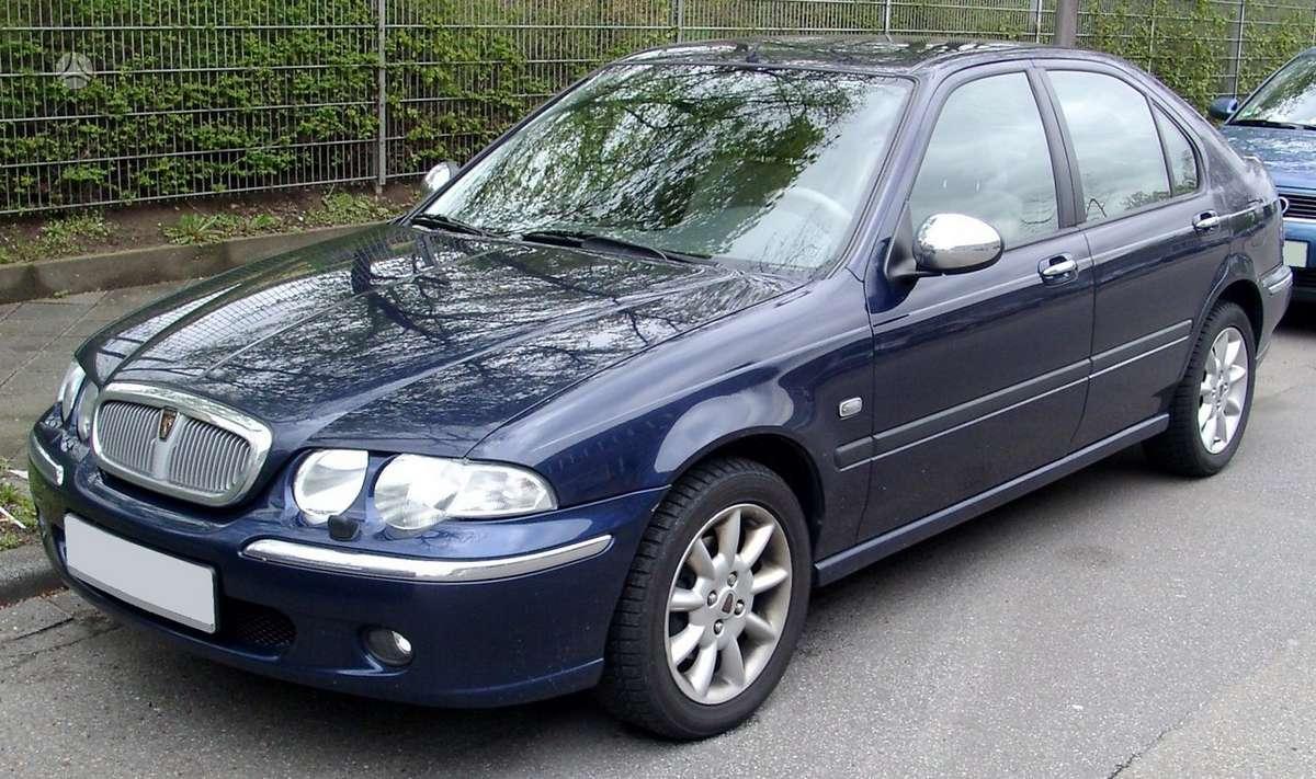 Rover 45 dalimis. Rover 45,25,75