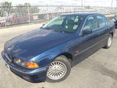 BMW 523. Bmw 523 1999m. automatinė pavarų dėžė, odinis salonas...