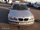 BMW 320. Bmw 320d 2002m. dyzelinas, automatinė pavarų dėžė,lie...