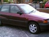Opel Astra dalimis. 1992-96m 1.4, 1.6, 1.8, 2.0, 1.7td