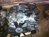 Mercedes-Benz E430. Tik variklis. tolko polnij motor. m113 940