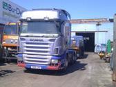 Scania R124, vilkikai