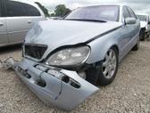 Mercedes-Benz S430. Odinis salonas, lieti ratai ,oriniai