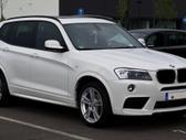 BMW X3. Naujų originalių automobilių detalių užsakymai