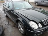 Mercedes-Benz E270. Europa. odinis  salonas, magnetola -