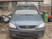Opel Zafira dalimis. Iš vokietijos.