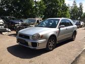 Subaru Impreza. Naudotos automobiliu dalys automobiliai nuo
