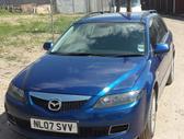 Mazda 6 dalimis. Mazda 6 2.0d 105kw 6begiu dezhe kablys,r16