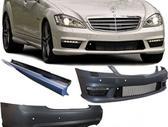 Mercedes-Benz S klasė. amg paketai-2 variantai.bamperiai.