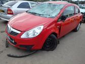 Opel Corsa. Platus naudotų detalių pasirinkimas, asortimentas