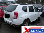 Dacia Duster dalimis. Www.xdalys.lt  bene didžiausia naudotų