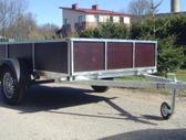 Baltic trailer B2K-2500, lengvųjų automobilių priekabos