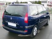Peugeot 807 dalimis. Europa
