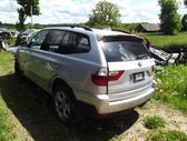 BMW X3. Pirkčiau ratlankius r18 du vienetus.