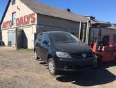 Volkswagen Golf Plus dalimis. Airbag ok