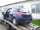Renault Clio. Dyzel-benzin, dalis siunciu.....detali vysylaju