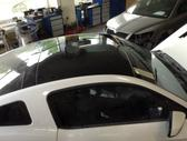 Ford Mustang. Ford mustang panorama stogas