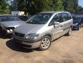 Opel Zafira. naudotos automobiliu dalys automobiliai nuo 1995