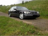 Mercedes-Benz S420 dalimis. Buvo idealus automobilis , grazu...
