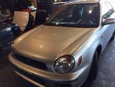 Subaru Impreza dangtis (priekinis, galinis), žibintai