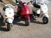 Piaggio Vespa, motoroleriai / mopedai