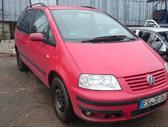 Volkswagen Sharan. Variklio kodas: awc spalvos kodas: ly3d 6