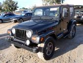 Jeep Wrangler dalimis. uued ja kasutatud varuosad ameerika