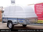 Respo 750M271L125 PLH 0.33, lengvųjų automobilių priekabos