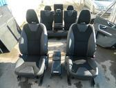 Volvo XC60 durų apmušalai, apdailos detalės, sėdynės