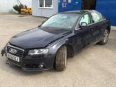 Audi A4. Variklio kodas: caga ` ii angaras ` automobilių