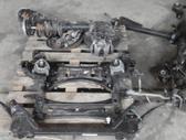 BMW X3. X3 x4 priekinė ir galinė važiuoklė  dėl daliu