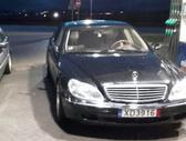 Mercedes-Benz S500 dalimis. Puikios bukles automobilis  lon...
