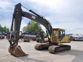 Cat 210LC-7E, statybos transporto nuoma