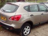 Nissan Qashqai.  dalis siunciu, 50t.myl. detali vysylaju