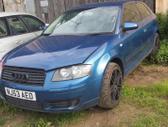 Audi A3. Automobilis parduodamas dalimis. galime pasiūlyti į