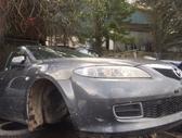 Mazda 6 dalimis. Melyna,  pilka,  sidabrinė mazda 6 sport  2....