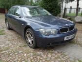 BMW 745 dalimis. Bmw e65 745i 2002m.   spalva: toledoblau