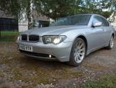 BMW 745 dalimis. Bmw e65 745i 2002m.   spalva: titansilber