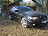 BMW 320 dalimis. Bmw e46 330d 2003m. m-tech   spalva:black