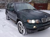 BMW X5 dalimis. Bmw e53 x5 4,4l 2001m.  spalva: oxfordgruen ...