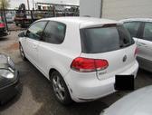 Volkswagen Golf. Vokiski automobilai, abu parduodami dalimis