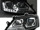 Volkswagen Jetta. Nauji priekiniai xenon optik zibintai- juodi