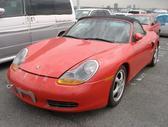 Porsche Boxster dalimis. Dalimis porsche boxter, rida 20000km