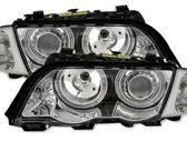 BMW 3 serija dalimis. Bmw e46 tuning žibintai. priekiniai juod...