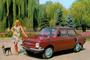 Sovietinius automobilius reklamuojančios stilingos nuotraukos