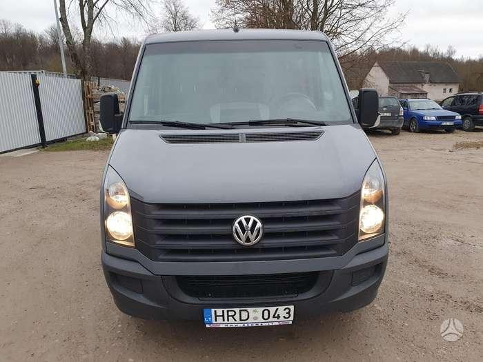 Volkswagen Crafter, 2.0 l., pasažieru mikroautobuss
