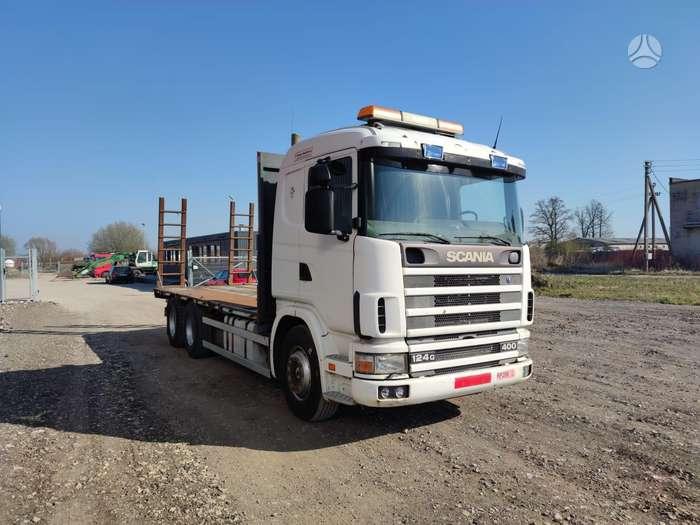 Scania 124.400, автовозы